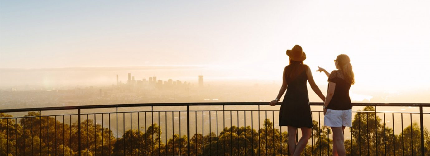 Brisbane Lookout at Mount Coot-tha