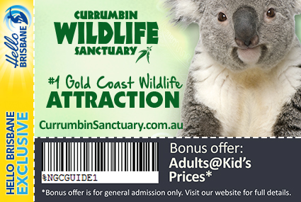 Discount Coupon – Currumbin Wildlife Sanctuary