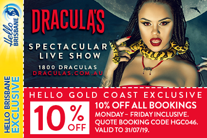 Discount Coupon – Dracula's Comedy Cabaret Restaurant