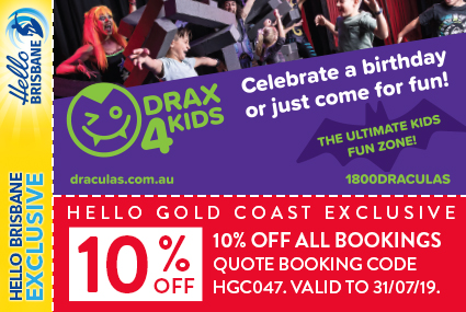 Discount Coupon – Dracula's Drax4Kids