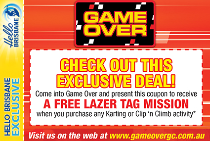 Discount Coupon – Game Over