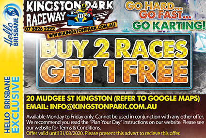 Discount Coupon – Kingston Park Raceway