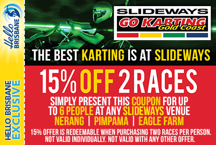 Discount Coupon – Slideways Go Karting