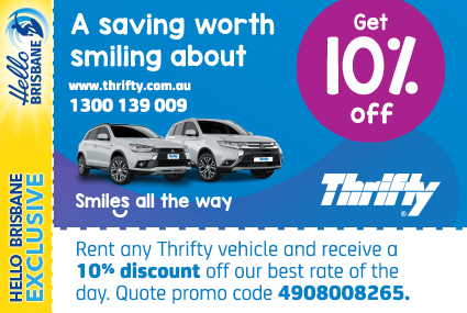 Discount Coupon – Thrifty Car Rental