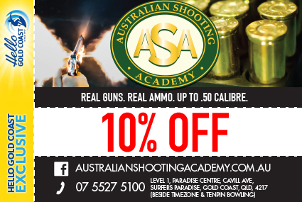 Discount Coupon – Australian Shooting Academy