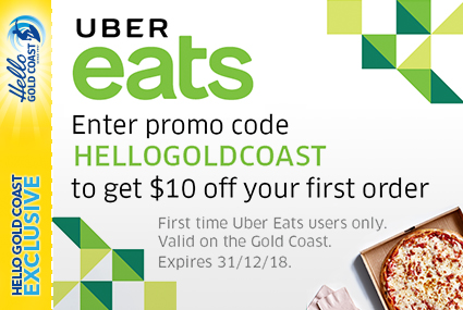 Discount Coupon –Uber Eats Gold Coast Food Delivery